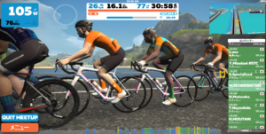 5/2,5/3開催 Zwift meetup