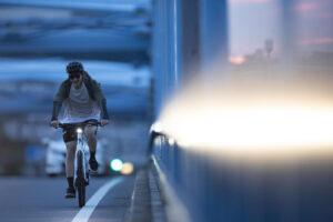 最先端のe-クロスバイクに乗って通勤してみませんか?