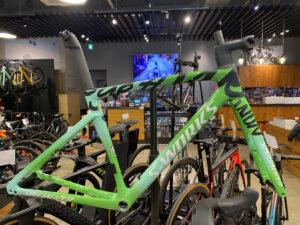世界限定100本 S-WORKS TARMAC SL7 GREEN CELEBRATION