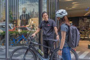 最新のe-Bikeを、近くの店舗で試乗しよう!